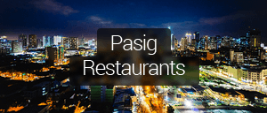 Restaurants in Pasig