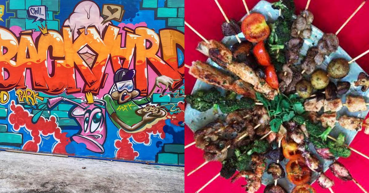 New Food Park Alert: Backyard Food Park in Fairview, QC