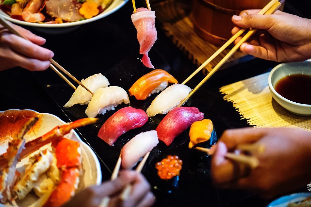 resorts world japanese fresh seafood