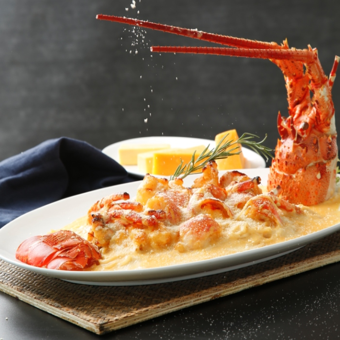 XIU Baked lobster with cheese