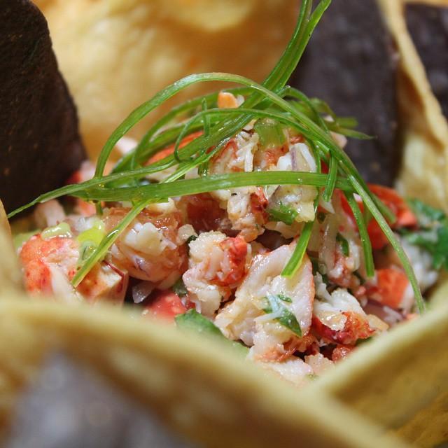 TODD tefoodhall lobster guacamole
