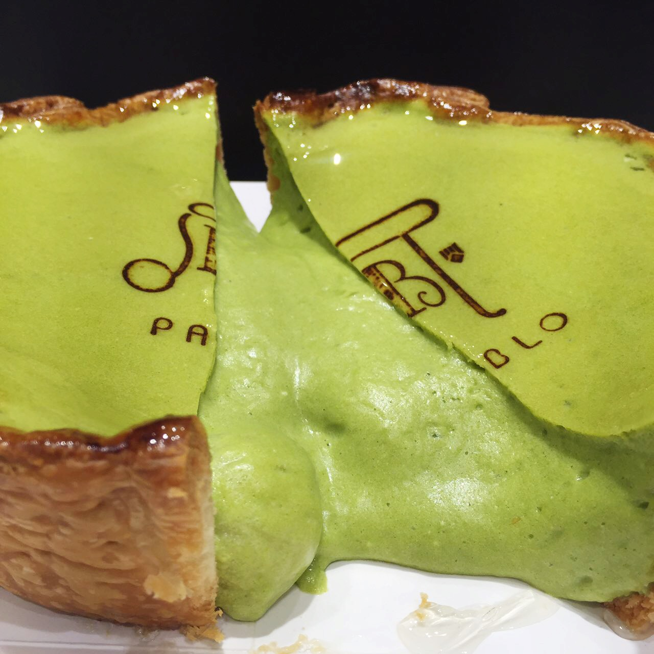 Pablo Sabrel Cheese Black Now In Manila The Best Cheesecake World Booky Making Of Matcha Tarts Img 7321