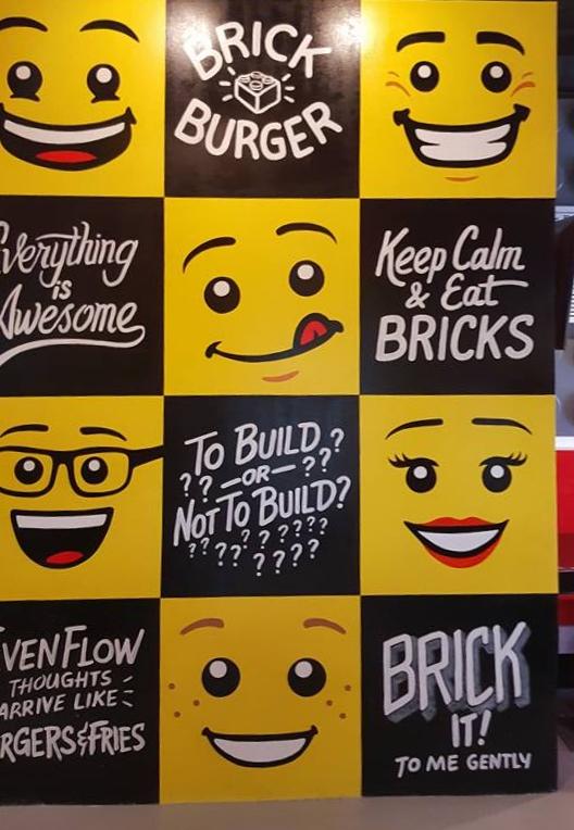 Brick Burger The First LegoThemed Restaurant In The Philippines - This restaurant in the philippines now sells lego burger buns