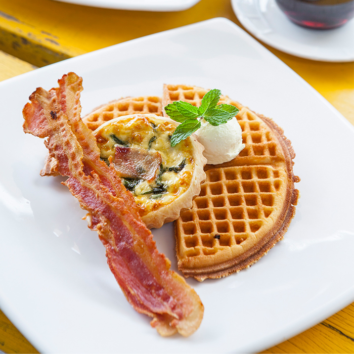 ham-and-leek-quiche-with-golden-waffle