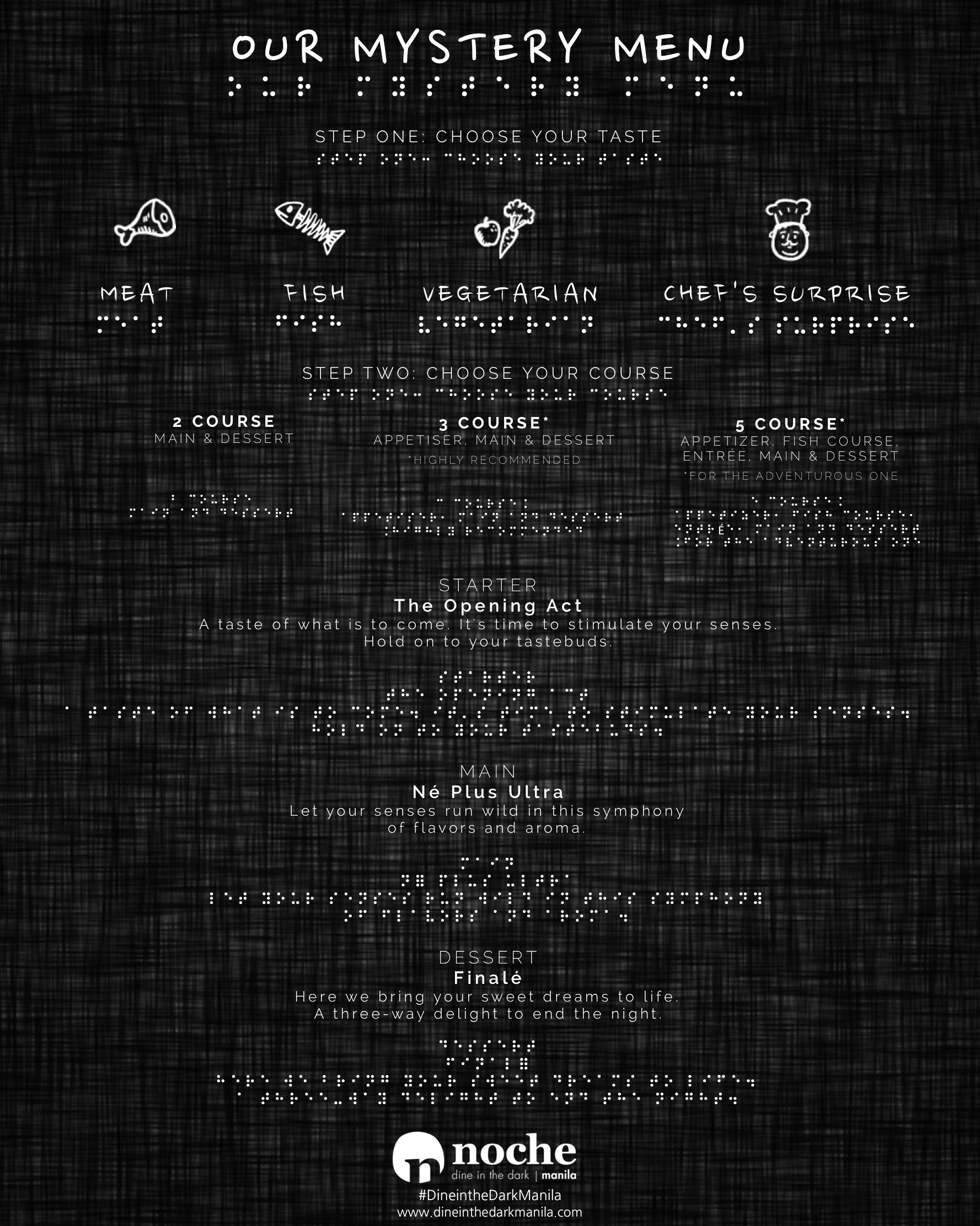Complete Menu Withille