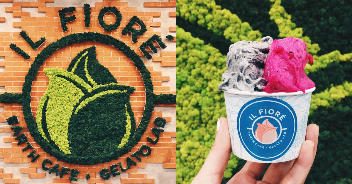 Il Fiore: Makati's new secret little Italian gelato cafe
