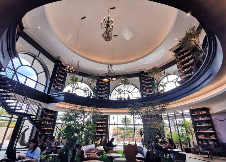 This Beautiful Grand Library and Coffee Shop is Any Book Lover's Dream Date!