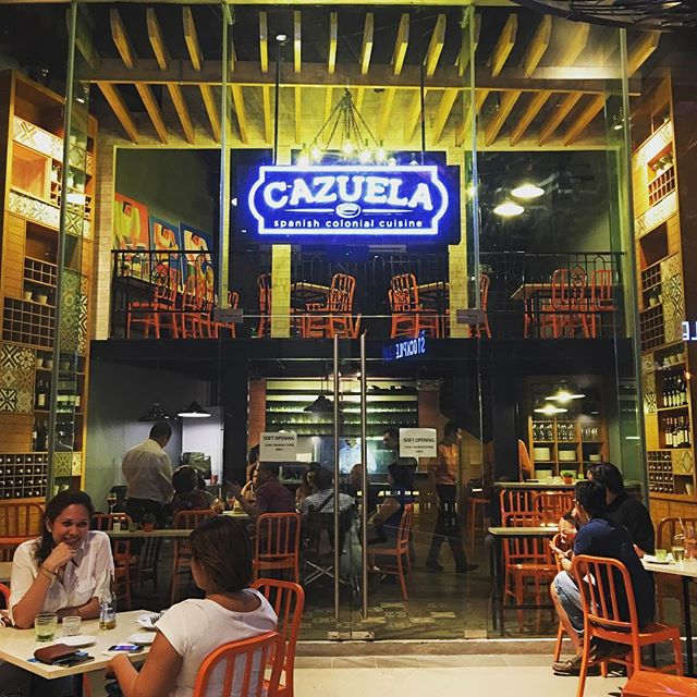 Cazuela Spanish Colonial Cuisine Sapphire Block Ortigas Welcome To