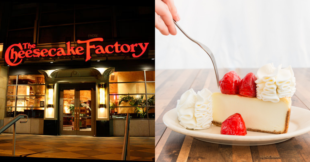 Breaking News Cheesecake Factory Is Finally Available In
