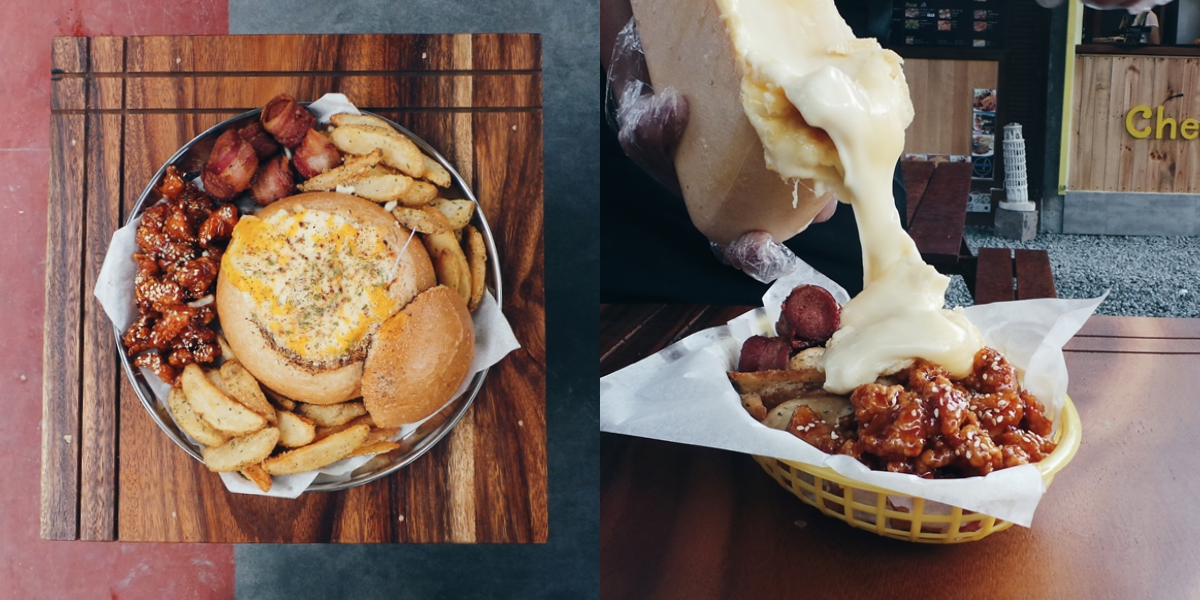 Cheese-o-holic, a cheese-tastic specialty stall in Maginhawa