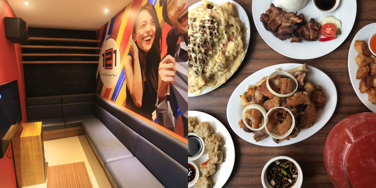 121 Grille and Restaurant: Where good Filipino food and karaoke meet!