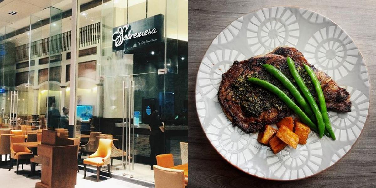 Must Try: Enjoy Unlimited Rib Eye Steak at Sobremesa in Ortigas!