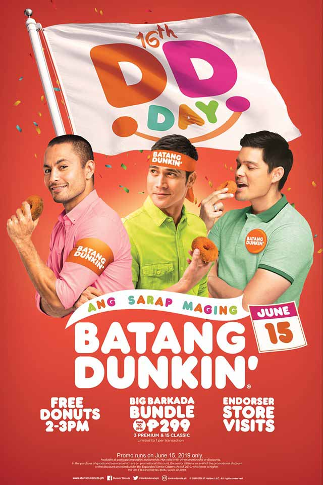 Dunkin Donuts Promo Poster
