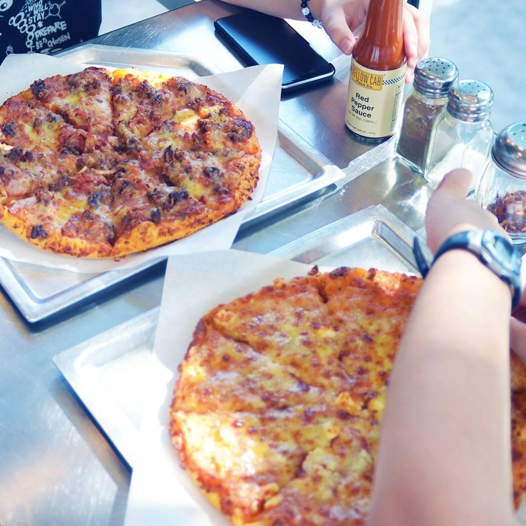yellow cab unli pizza