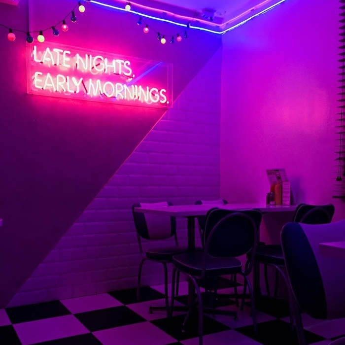 Big Boy S A Riverdale Inspired Diner In Qc Is A Neon