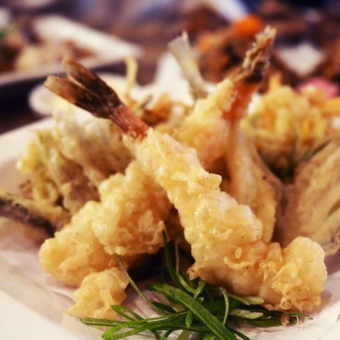 12 japanese spots for affordable golden fried ebi tempura for 195 american fusion cuisine