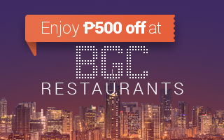 Restaurants in BGC