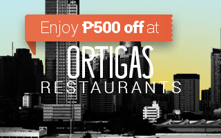 Restaurants in Ortigas