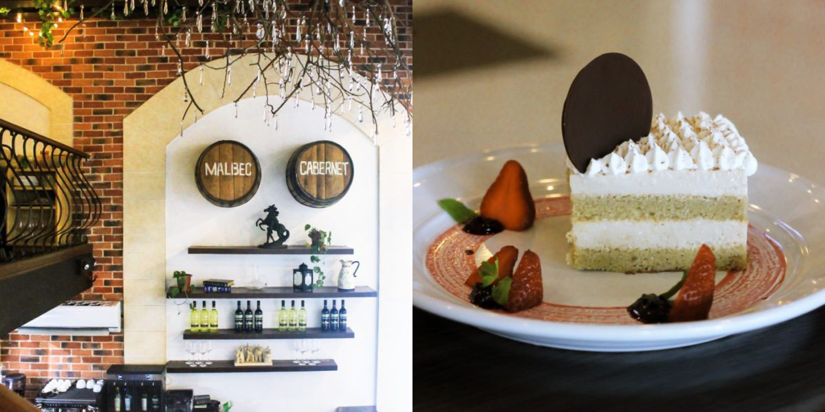 Grape Escape serves Italian and Spanish favorites and unlimited wine
