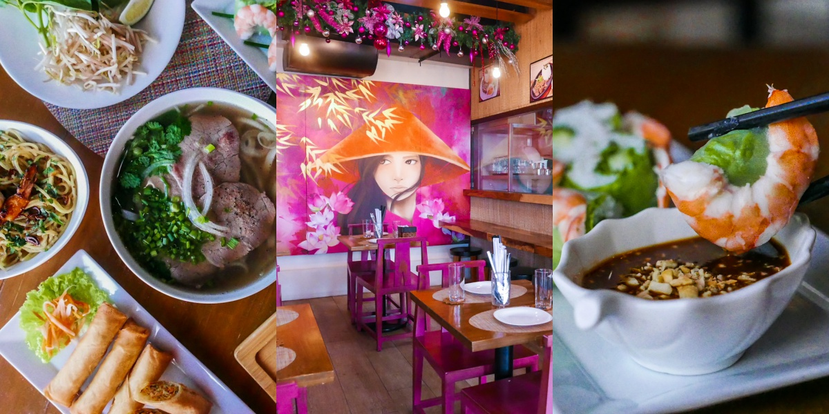 viet asia vietnamese restaurant cuisine pho banh mi spring rolls authentic metro manila aguirre bf homes