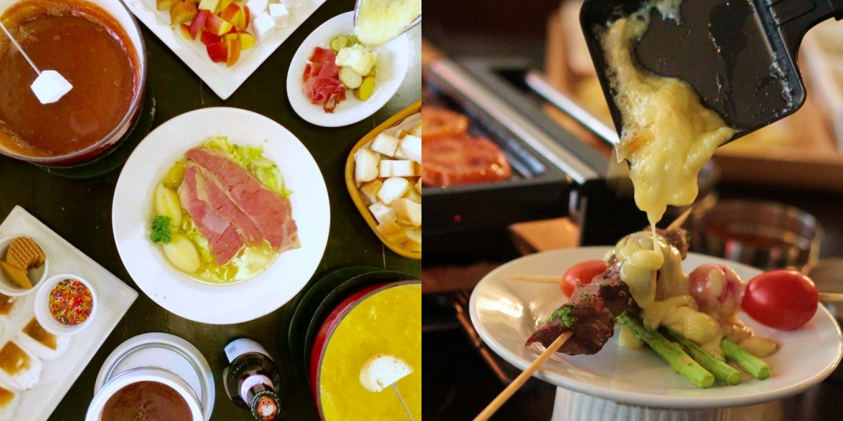 old swiss inn makati city cheese chocolate fondue raclette italian swiss french metro manila