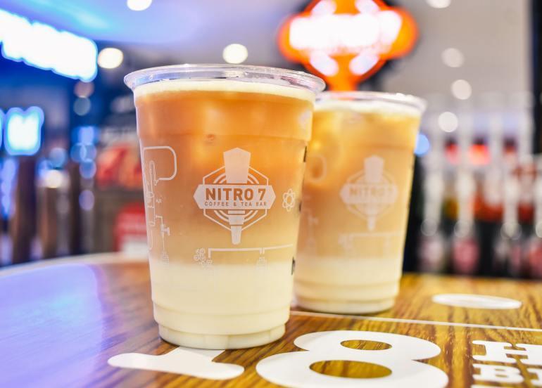 nitro7 melon milk tea