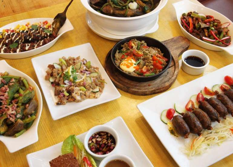 bodega kitchen, sinarabsab recipe, makati restaurants, filipino food