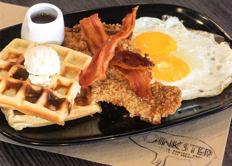 waffles-eggs-bacon-pork-chop