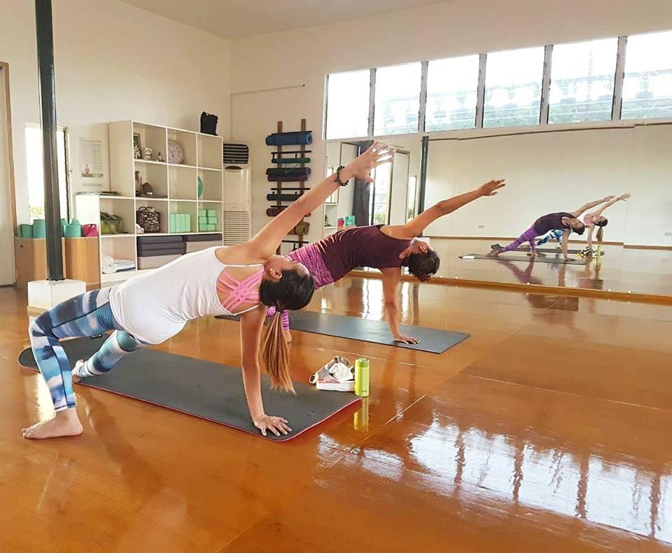 wellness fitness gym workout exercise workouts stretching yoga poses core abs basic intermediate studios vinsaya bikram yogi namaste metro manila