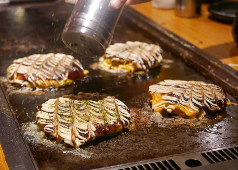 dohtonbori unlimited okonomiyaki