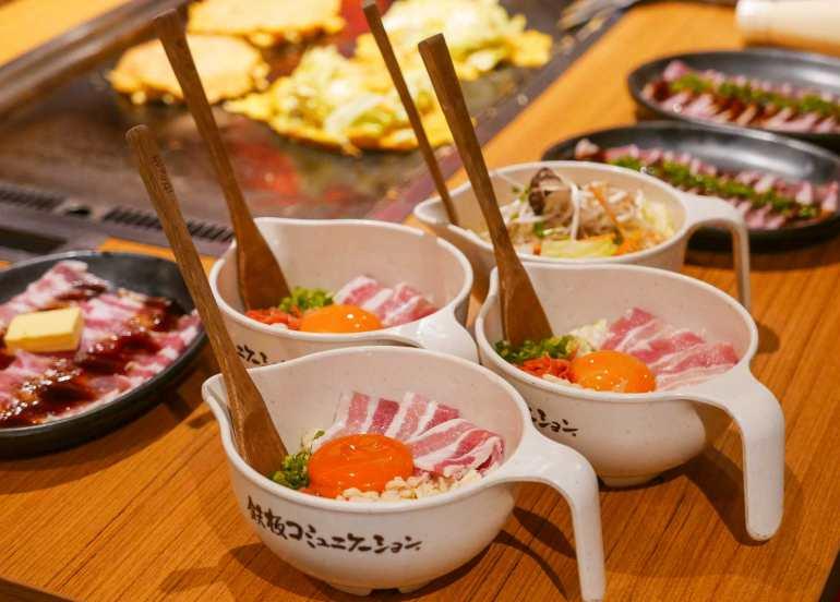 dohtonbori eat all you can okonomiyaki yakiniku