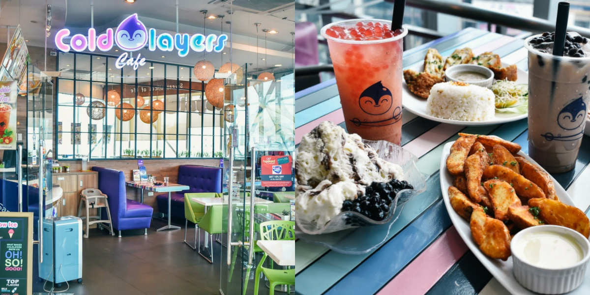 Taste all the flavors of Shaved Ice Desserts you can imagine at Coldlayers Cafe!
