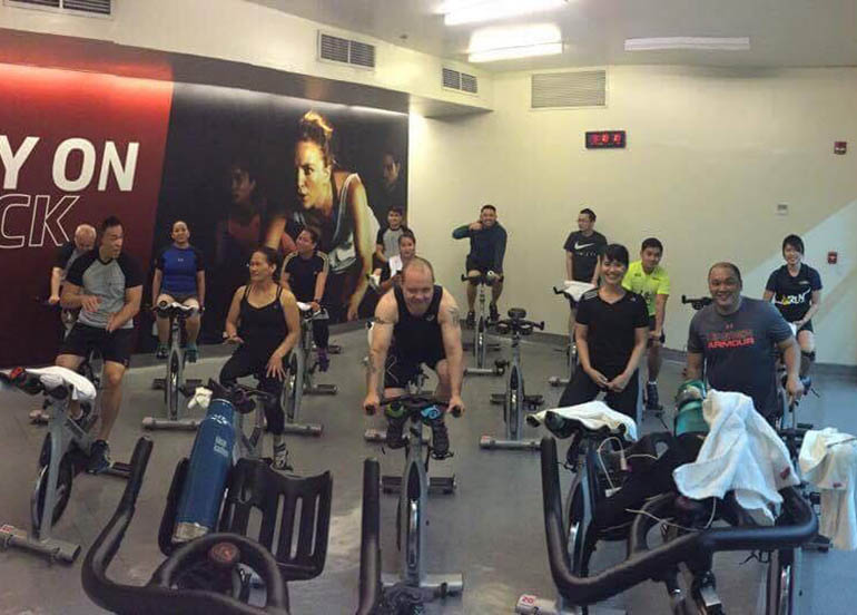 spinning-exercise