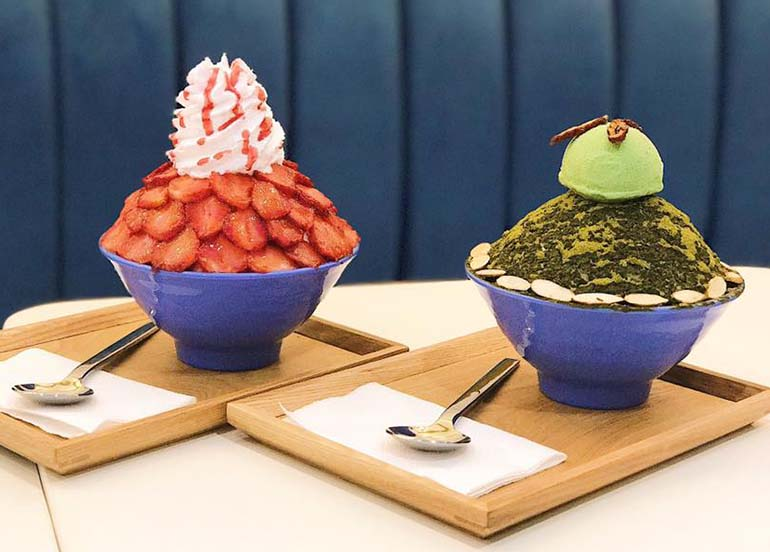 10 Fun Cafes for Korean Bingsu Desserts