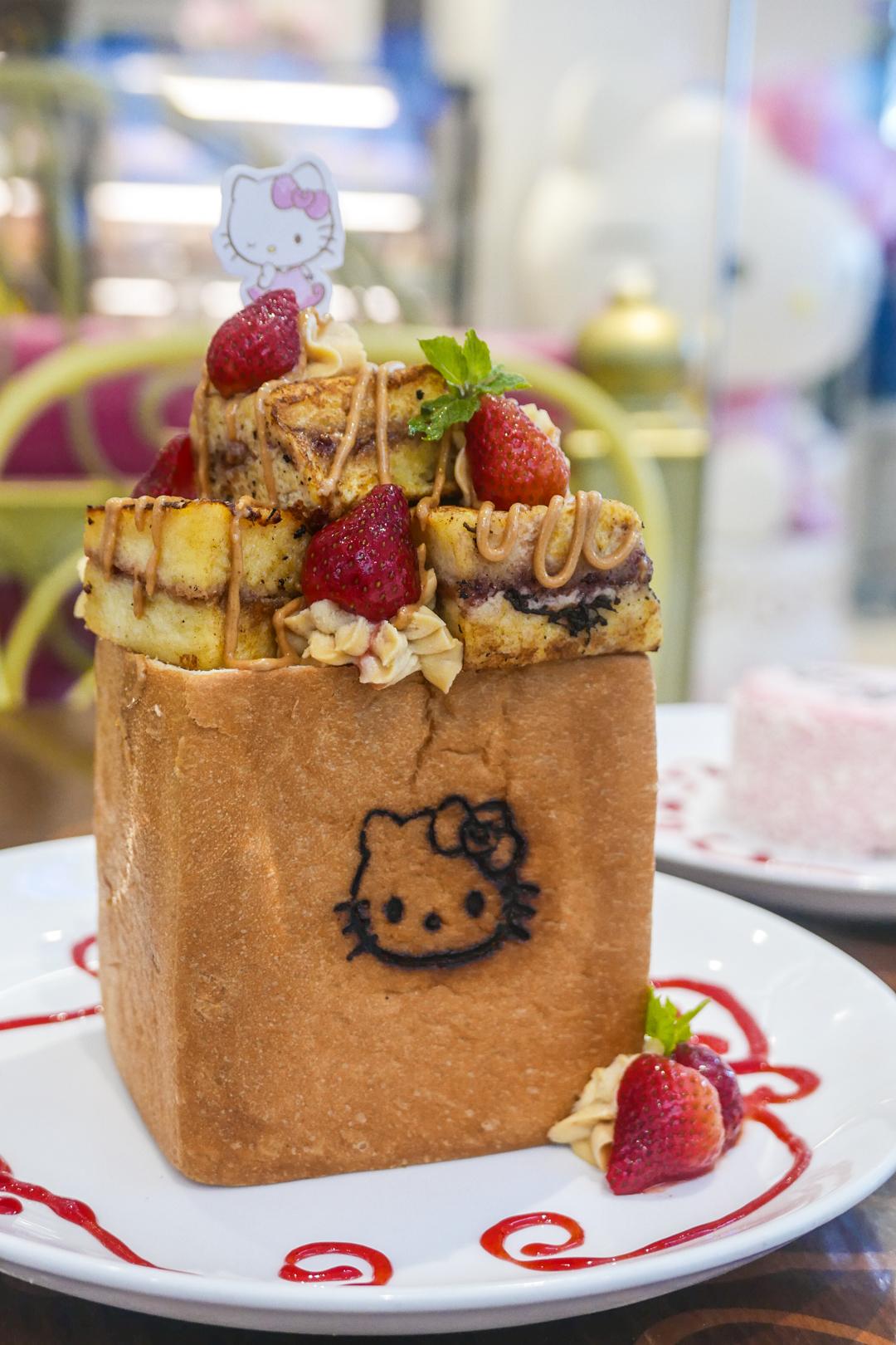 Hello Kitty Cafe BGC french toast dessert