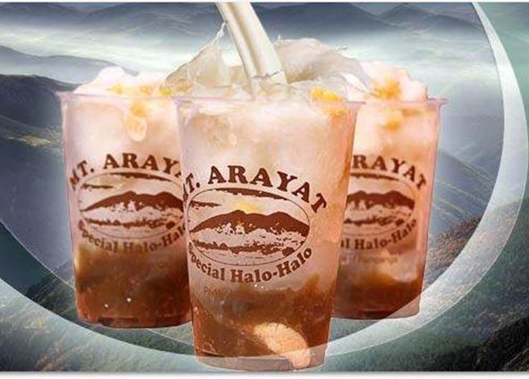 mt arayat special halo halo, halo-halo, filipino food, filipino desserts