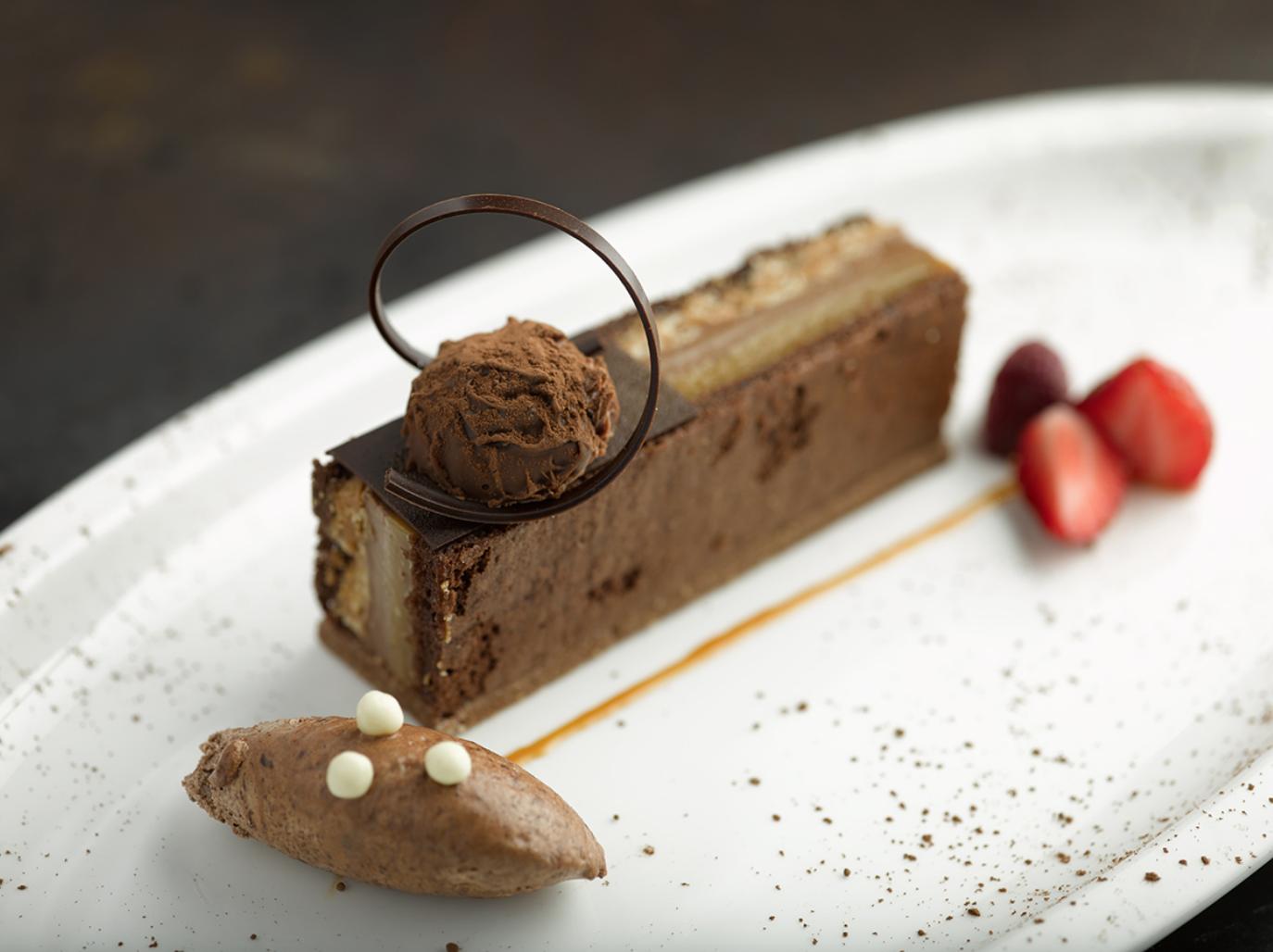 chocolate dessert cru steakhouse