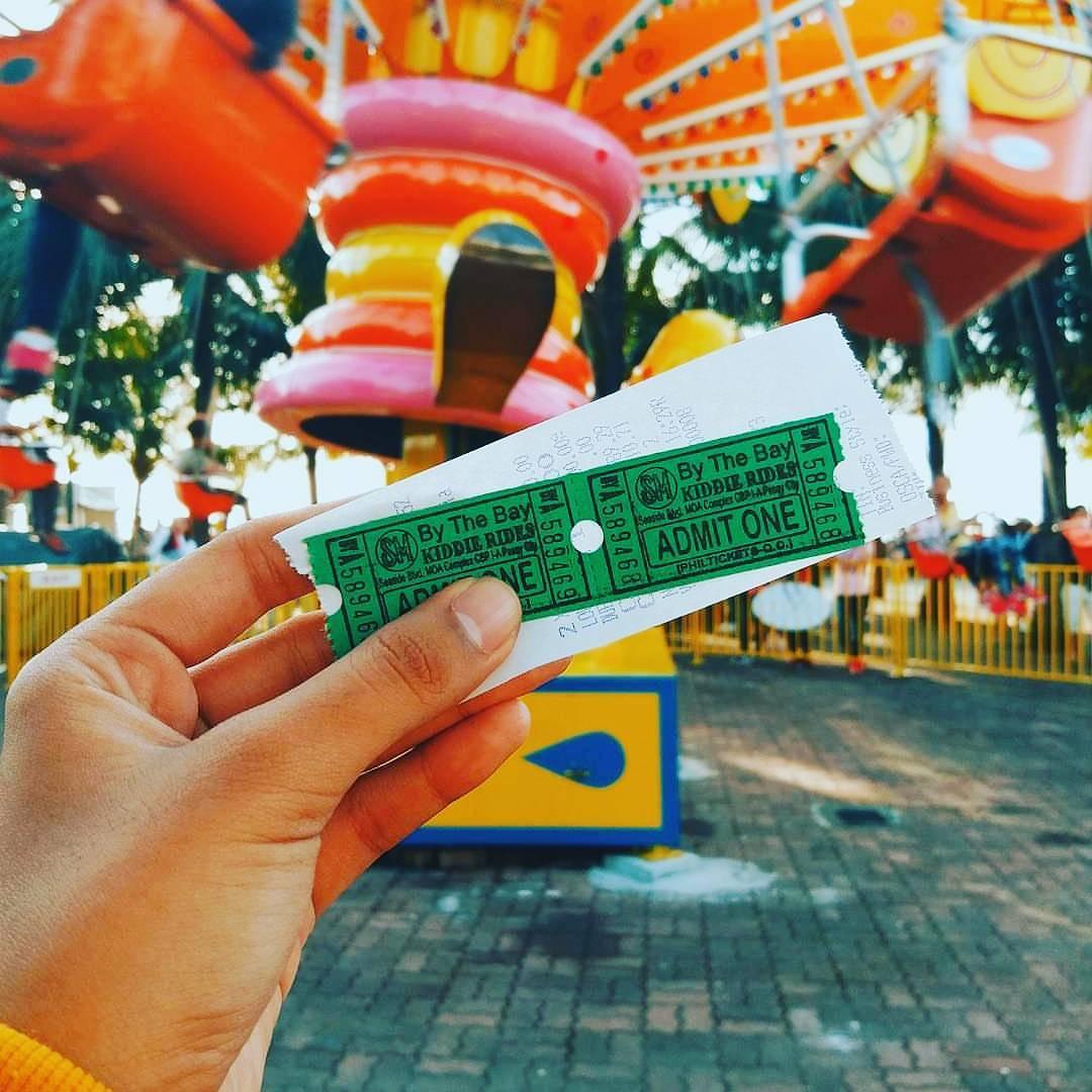 Sm moa by the bay amusement park