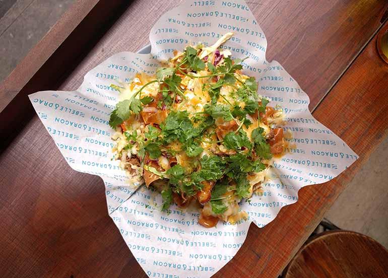 wanton nachos