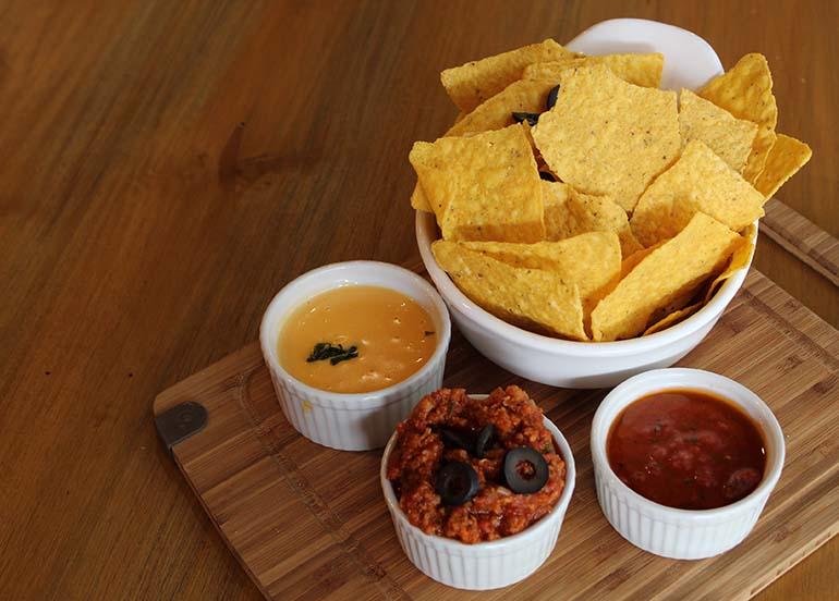 nachos deconstructed