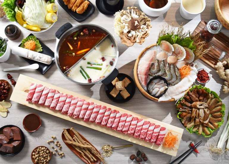 ai shi guo hot pot restaurant taiwan