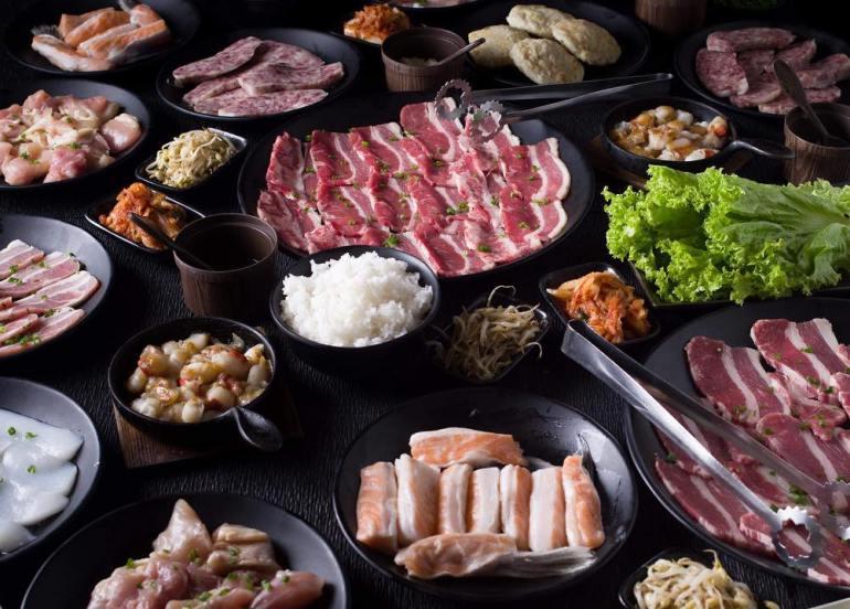 japanese korean grill barbecue tajimaya