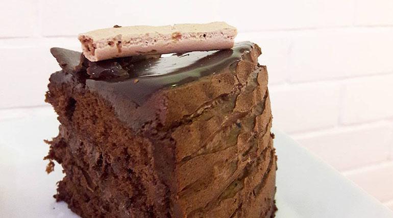 Chocolate Truffle Cake from Sugarhouse