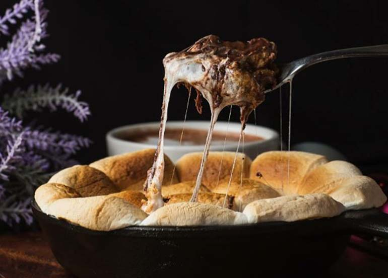 smores-in-a-skillet