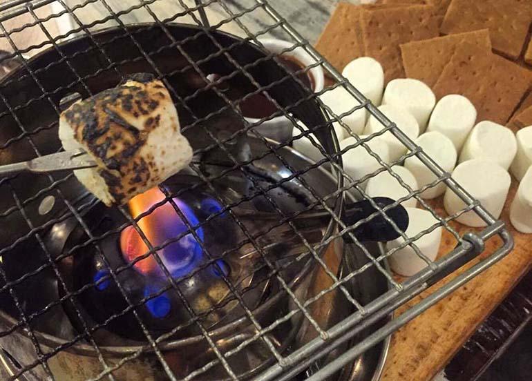smores-fondue