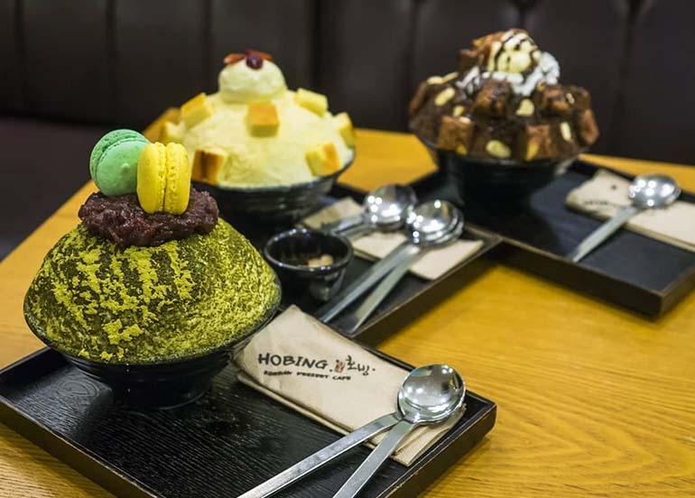 Bingsu Desserts from Hobing