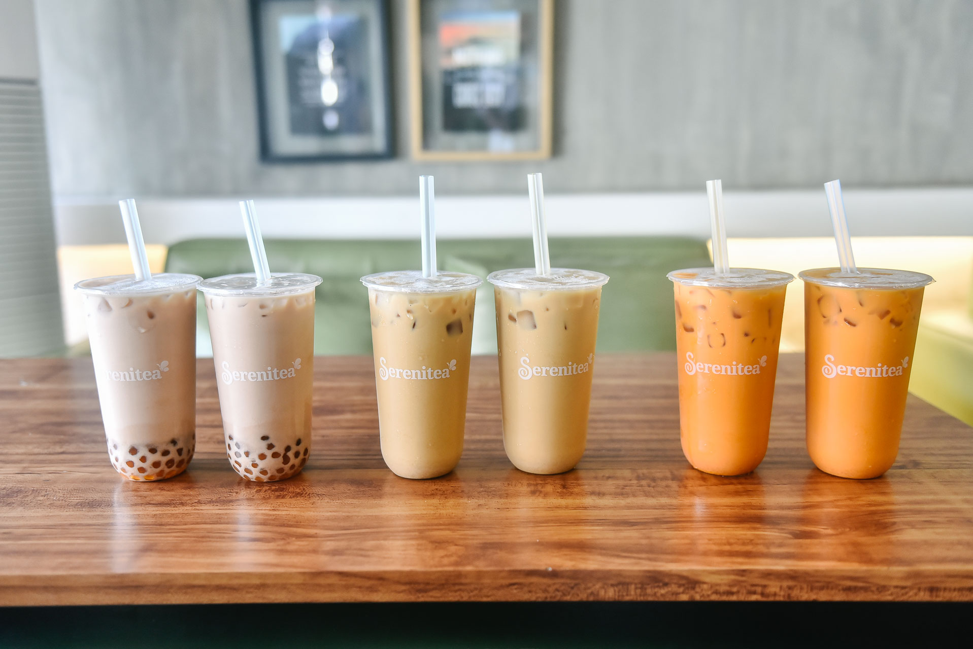 milk tea buy one get one serenitea thai tea wintermelon hong kong milk tea