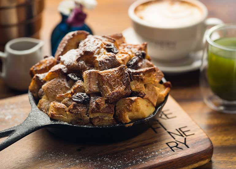 Bread Pudding from Refinery