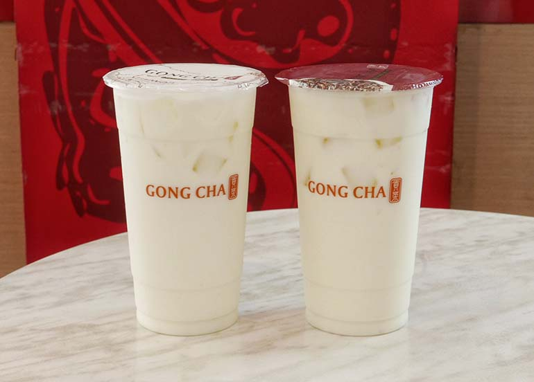 Banana Milk from Gong Cha