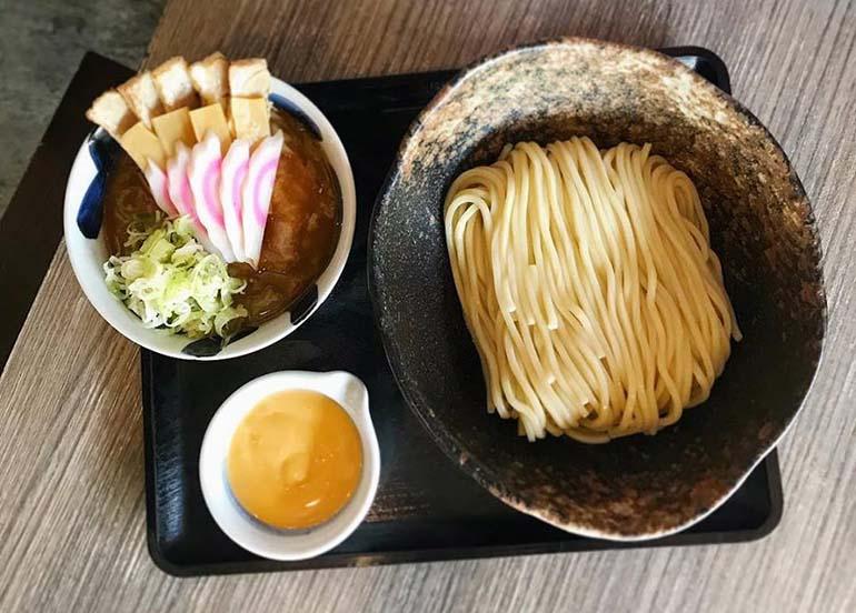 Tsukemen (dipping noodles) from Mitsuyado Sei-men